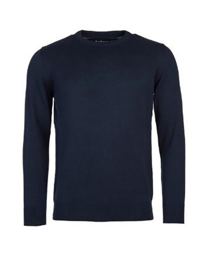 BARBOUR PIMA COTTON CREW NECK CORE ESSENTIALS